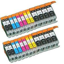 24x Tinte für CANON PIXMA IP3600 IP4600 MP540 MP620 MP630 MP550 860 IP4700 MP560