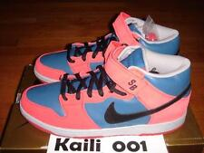 Nike Dunk Mid Pro SB Size 12 314383-401 Red Blue 3 Bears Money Cat Peacock B