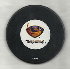 Atlanta Thrashers Official Puck In Glas Co.