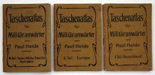 Heide Taschenatlas 3 Bd Deutschland Europa Asien Afrika Amerika Australien Atlas