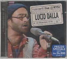 LUCIO DALLA LIVE RTSI ( RON ) CD F.C.SIGILLATO!!!