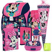 Minnie Mouse Masus Schulranzen Tornister Ranzen Set Premium 8 teilig Schultüte