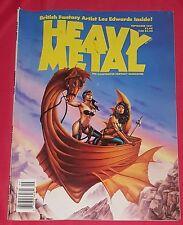 Heavy Metal Magazine #Vol. 15 #4 (September 1991, HM Communications, Inc.)