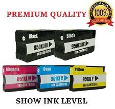 5 New Gen HP 950XL 951XL Ink Cartridge for Officejet Pro 8610 8600 Plus Printer