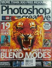 Photoshop Creative UK Issue 141 Fire Up Your Shops Blend Modes FREE SHIPPING sb