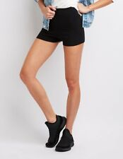 71% OFF! AUTH CHARLOTTE RUSSE STRETCHY COTTON BIKE BLACK SHORTS X-LARGE US$9.99