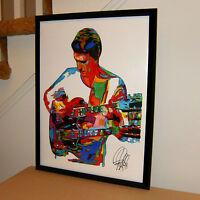 John McLaughlin Mahavishnu Orchestra Guitar Jazz Poster Print Wall Art 18x24