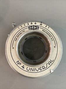 Vintage Ilex No. 4 Universal Camera Shutter NO RESERVE
