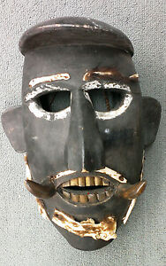 Old Shamanistic Mask from the Himalayas (Tibet, Nepal?)