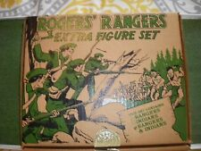 BARZSO ROGERS RANGERS EXTRA FIGURES PLAYSET COMPLETE.