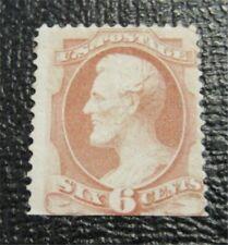 nystamps US Stamp # 186 Mint OG H $900