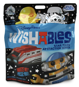 Disney Parks Star Wars Star Tours Mystery Wishables Limited Plush New with Tag