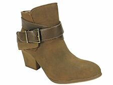 LifeStride Women's Wendy Ankle Bootie Tan Brown Ankle Boots Size 6.5 M