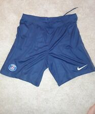 Nike Paris Saint-Germain PSG Soccer Shorts Navy Blue Men's L