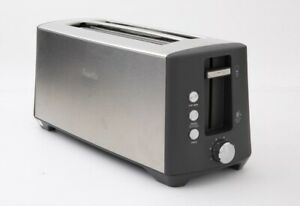 Breville BTA440BSS The Bit More Plus 4 Slice Toaster - Stainless Steel