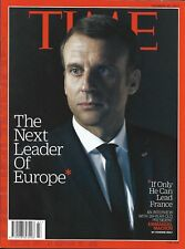 TIME VOL.190 n°21 20/11/2017  Macron, next leader of Europe/ The Texas massacre