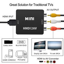 HDMI to 3 RCA AV Converter for Amazon Fire TV,Fire Streaming Stick,Fire TV Stick