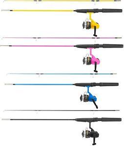Fishing Rod Starter Set Kids Summer Outdoor Camping Beach Kit Yello Juniors Set
