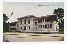 Monrovia,California,Wild Rose Avenue School,San Gabriel Valley,c.1909