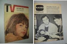 MOUSTIQUE RADIO TV 1946 (16/5/63) MARIE-FRANCE PISIER FRANCOIS DEGUELT SHEILA