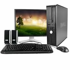 "Dell 755 Desktop with Dell 19"" LCD, 4GB, Dual-Core CPU, & Genuine Windows 10"