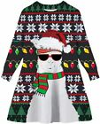 Little Girls Ugly Christmas Sweater, Christmas Style 12, Size 0.0 0CsY