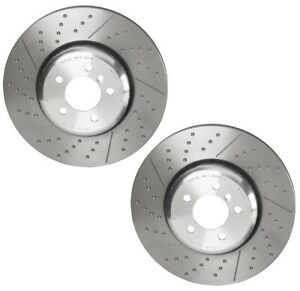 Brembo Pair Set 2 Front M Performance Brake Disc Rotors for BMW F20 F30 F22 F34