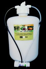 2020-HB EZ-FLO Fertilizer Canister Injector 2 Gallon Garden Hose End System Poly