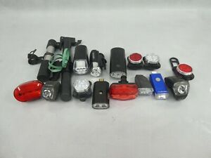 Small Job Lot Cycling Accessories Bike Lights Wheel Pumps All Used Condition