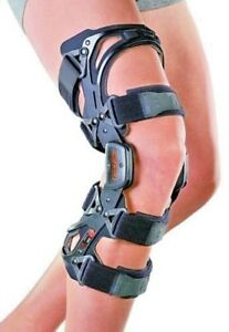 ACL Knee Brace, Aluminium Knee Brace Support Ideal For Post Op or Sports Injury