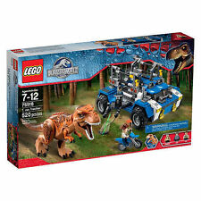 LEGO Jurassic Park Jurassic World T-Rex Tracker #75918 520 PCS New Sealed