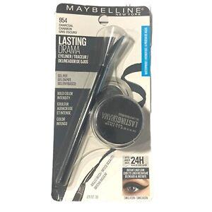 Maybelline Gel Eyeliner & Gel Pot Lasting Drama 954 Charcoal 0.11 Oz.