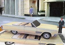 Papercraft EZU-make car Green Hornet T.V. Brit Reid 1966 Chrysler 300 convert