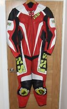 IXS motorcycle Leathers One Piece Red EU50 UK40