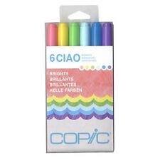 Copic Ciao Marker 6 Color Set Brights