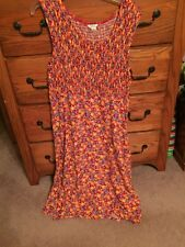*GUC* Christopher & Banks Red Floral Maxi Dress - FREE SHIPPING
