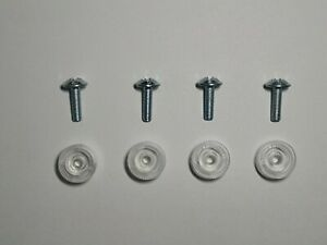 Steel Bolts And Plastic thumb nuts For Trade Plate Holders