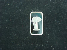 PALM TREE & SURFBOARD 1 GRAM .999 SILVER ROUND BULLION COIN FOR BEACH SURFER