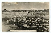 RPPC Aerial View of DRUMMOND MT Vintage Montana Real Photo Postcard
