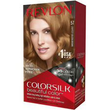 Revlon ColorSilk Beautiful Color Hair Color, 57 Lightest Golden Brown 1 Each 2pk