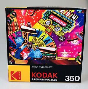 NEW Kodak 350 Piece Jigsaw Puzzle Pinball Family Game Challenging Large 2020