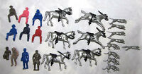 Marx reissue fox hunt set, large size with  a color mix of figures.