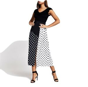 Riverisland Midi Polka Dot Skirt