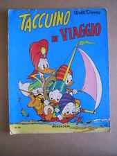 TACCUINO DI VIAGGIO n°108 1966 Mondadori Paperino Album da colorare [G504]