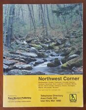 1990 Telephone Directory * Litchfield Torrington Sharon * Northwest Connecticut