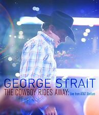 GEORGE STRAIT DVD - THE COWBOY RIDES AWAY: LIVE FROM AT&T STADIUM (2015) - NEW