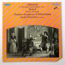 Strauss/Wolf CHAMBER SYMPHONY PHILADELPHIA LP (1969 RCA LSC-3087) MINT D