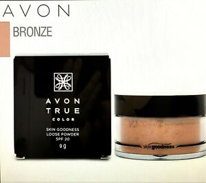 NEW AVON TRUE COLOUR Skin Goodness Loose Powder - BRONZE