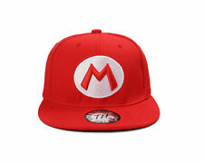 True Heads Snapback Super Mario Red Baseball Cap