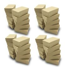 Us Seller50 Pcs 2 58x1 12x1 Kraft Cotton Filled Jewelry Gift Boxes